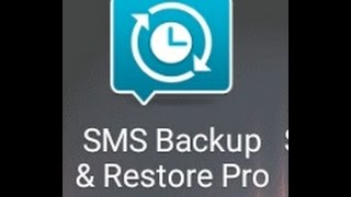 SMS backups and phone reset