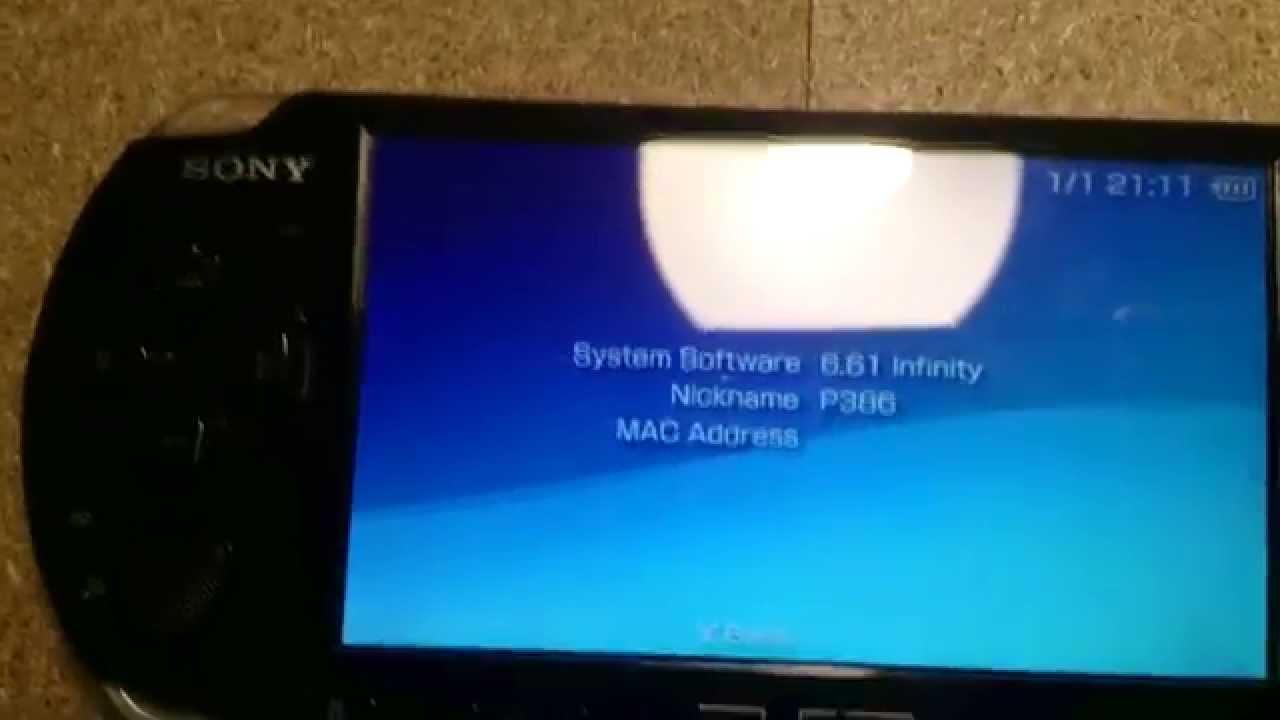 TÉLÉCHARGER CRACK PSP 6.61