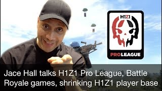 Jace Hall of Twin Galaxies talks the H1Z1 Pro League, player base, and Early Access