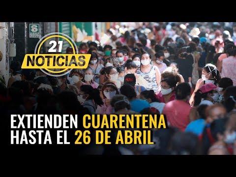 Coronavirus En Perú: Extienden Cuarentena Hasta El 26 De Abril