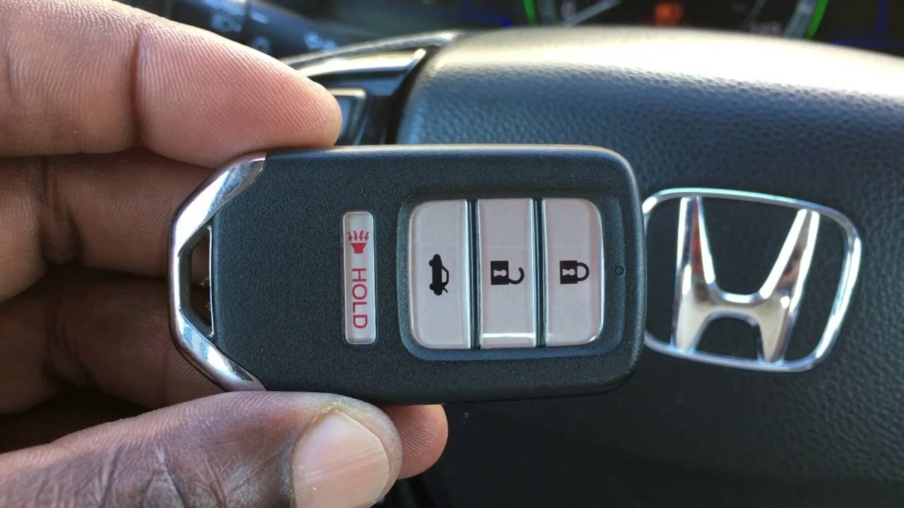 DIY Honda SMART Key FOB Battery Replacement - YouTube