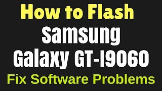 How to Flash Samsung Galaxy Grand Neo GT-I9060 with Odin Flash tool