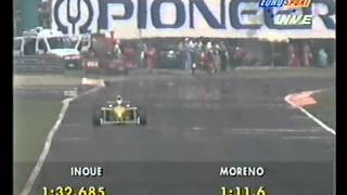 Roberto Moreno (Forti FG01) qualifying run - 1995 Italian Grand Prix