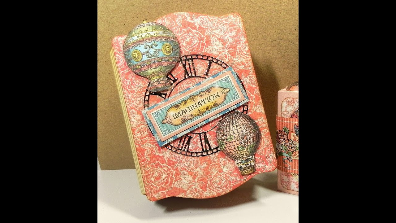 Sizzix ScoreBoards XL Die by Eileen Hull-Book /& Pages Trinket Box /& Frame