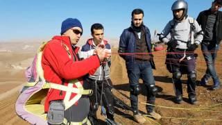 yamaçparaşütü ters kalkış nasıl yapılır (paragliding)