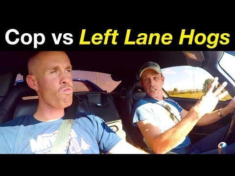 Left lane losers vs POLICE officer review on making US highways dangerous