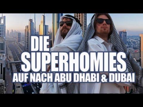 Die Superhomies in den Arabischen Emiraten - Auf nach Abu Dhabi & Dubai (mit Gronkh und Sarazar)