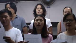 Bài hát thực hành : Xin cho con nhận biết Ngài - Khoá học thanh nhạc - Gx Công lý - Q3 - Saigon