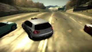 Need for Speed Most Wanted 2005 black list no. 14 TAZ's Second Circuit Race