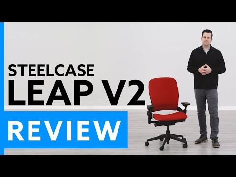 Steelcase Leap V2 Ergonomic Office Chair Review