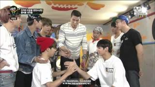 [ENG SUB] 150622 YAMAN TV BTS Jimin VS Jungkook arm wrestling CUT
