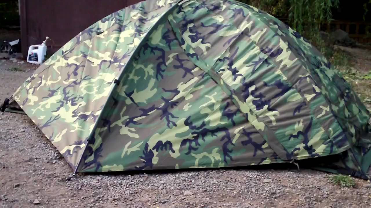 & Bug Out Gear- Military Tent Eureka TCOP - YouTube