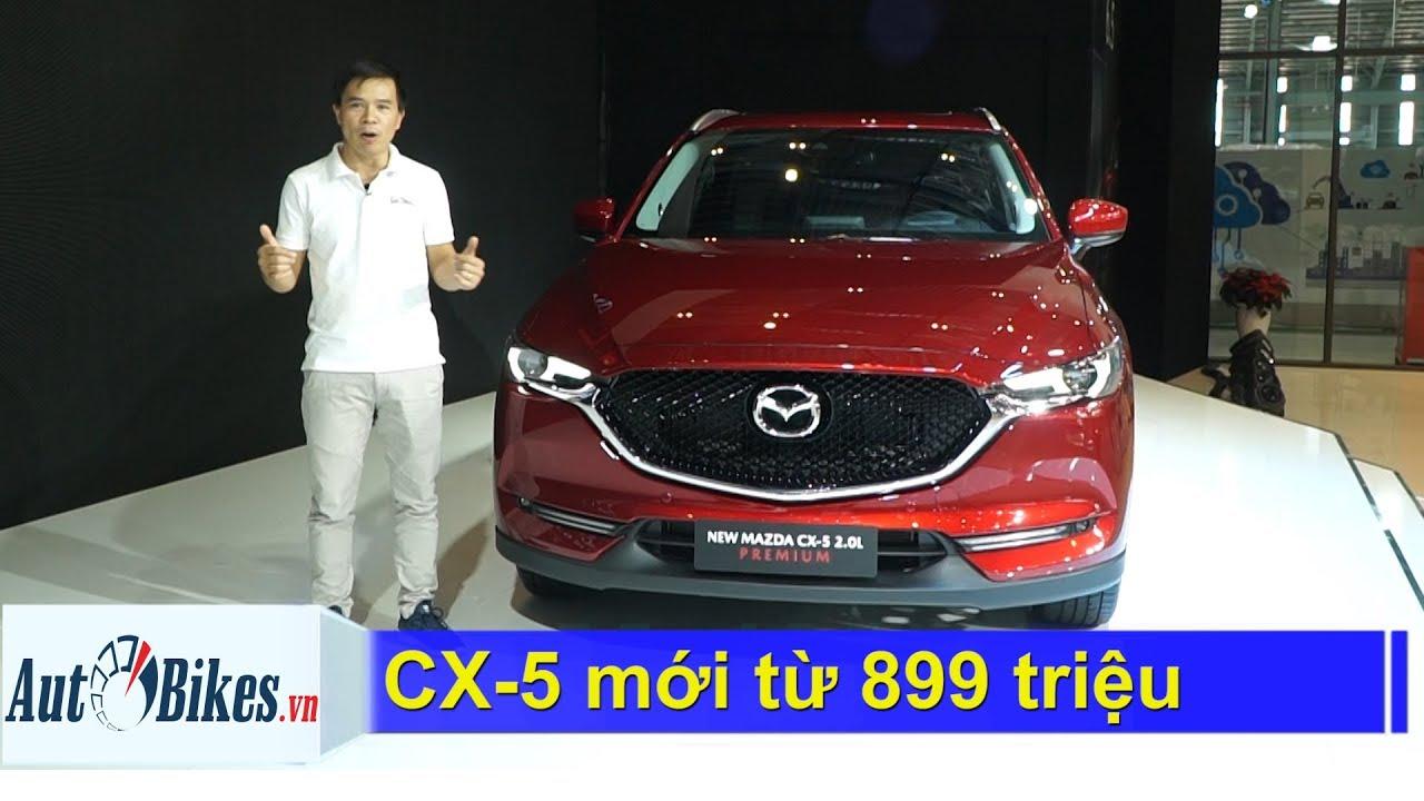 Chi tiết Mazda CX-5 2020 giá từ 899 triệu đồng, đòi lại ngôi vương từ Honda CR-V