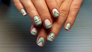 Дизайн ногтей гель-лак shellac - Декоративная лента (видео уроки дизайна ногтей)(Видео уроки дизайна ногтей - Декоративная лента Данные видео уроки дизайна ногтей предназначены для начин..., 2015-07-07T22:03:13.000Z)