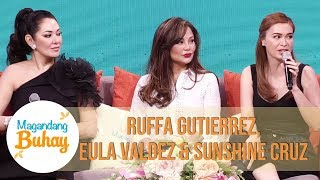 Ruffa, Eula, and Sunshine recall their experiences with rela...