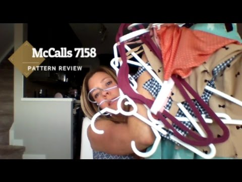 McCalls 7158 Pattern Review