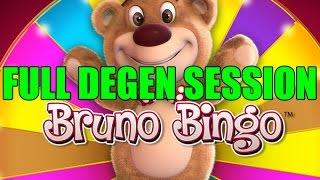 Video Online Slots Bruno Bingo - FULL Degen Session!!! xD (Long video) download MP3, 3GP, MP4, WEBM, AVI, FLV Oktober 2018