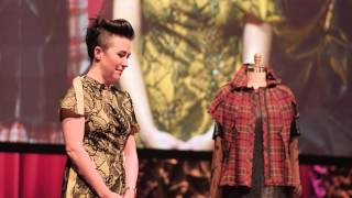 Emotive fashion | Michelle Lesniak | TEDxOregonStateU