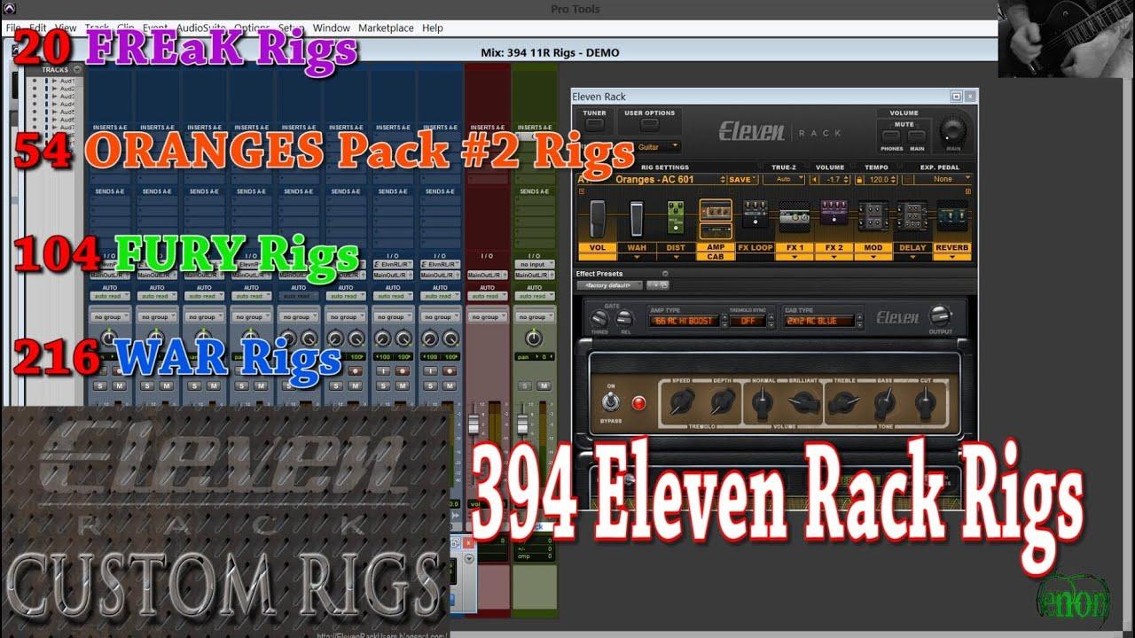 avid eleven rack expansion pack 2