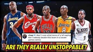 Shaq Said NOBODY Could Beat THIS Team... but was he right?