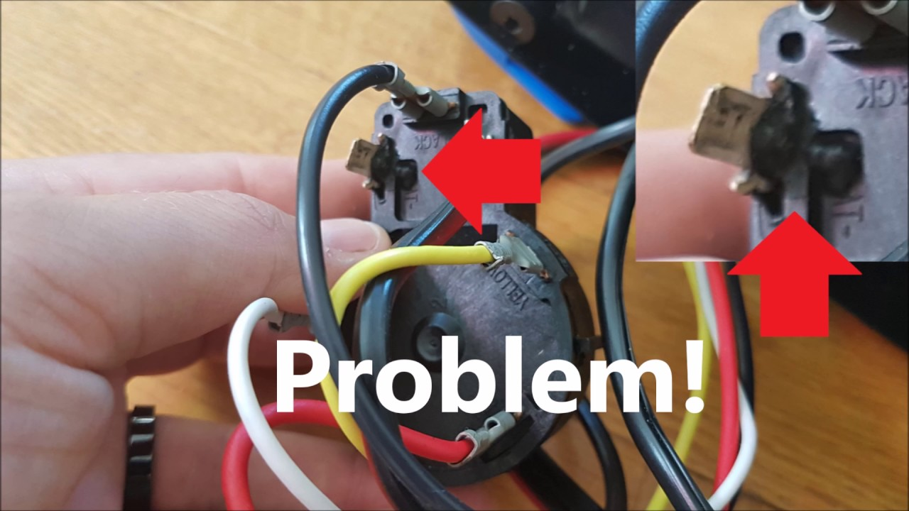 Wiring Diagram Motor Control Jensen Uv10 How To Change Minn Kota Speed Switch - Youtube