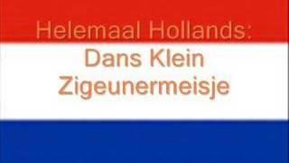 Helemaal Hollands - dans klein zigeunermeisje