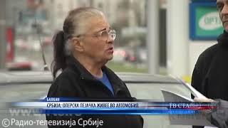 СРБИЈА  ОПЕРСКА ПЕЈАЧКА ЖИВЕЕ ВО АВТОМОБИЛ 14 03 2020