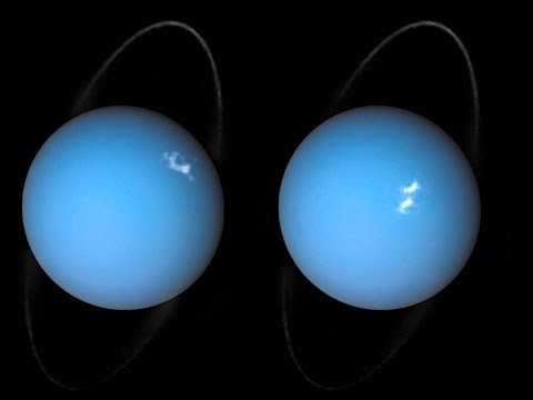 Hubble Sees Something Huge Coming Out of Uranus
