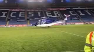 بالفيديو: شاهد كيف سقطت هيليكوبتر مالك نادي ليستر سيتي