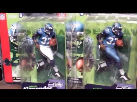 2014 Shaun Alexander Mcfarlane NFL Seattle Seahawks