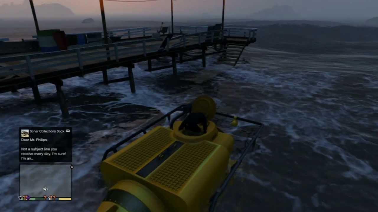 собрать подводную лодку гта 5