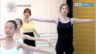 Wang Jiwon shows off 'quadruple spin' in front of Cheng Xiao [The Swan Club /2017.12.13]