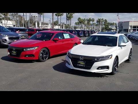 2018 Accord Sport 2.0T VS 1.5T (battle of the sports)