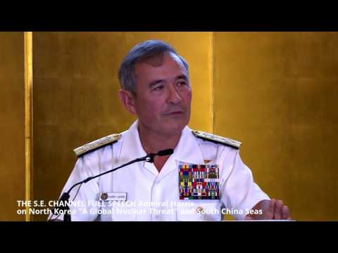 "FULL SPEECH Admiral Harris on North Korea ""A Global Nuclear Threat"""