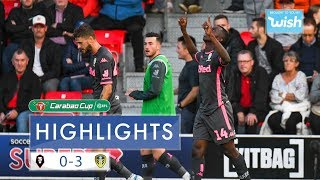 Highlights | Salford City 0-3 Leeds United | Carabao Cup First Round