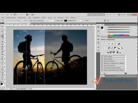 Как обрезать границы фотографии с помощью Photoshop?