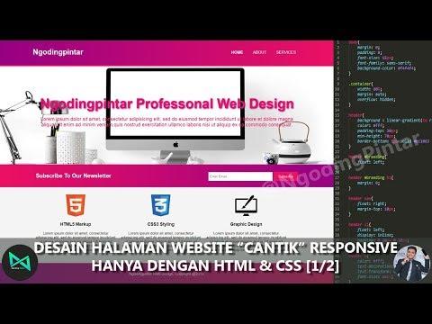 DESAIN HALAMAN WEBSITE