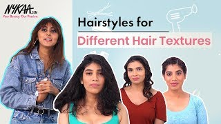 Hairstyles for Girls With Curly and Frizzy Hair Ft. Celebrity Hairstylist Hiral Bhatia | Nykaa