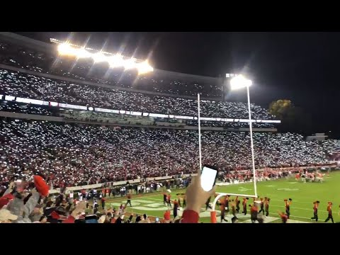 Watch UGA Fans 'light Up Sanford' In New Stadium Tradition