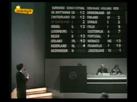 Eurovision 1976 - Voting Part 1/3
