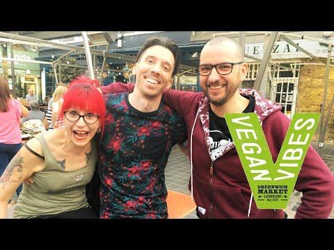 LONDON Vegan Festivals: Vegan Vibes || Plant Bass LDN, Greenwich Market