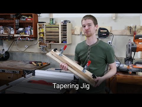Table Saw Tapering Jig – Woodworking Guide