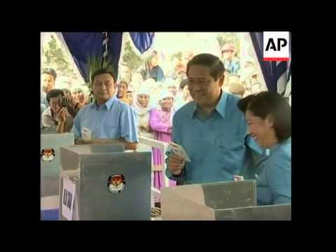 Voting begins in Indonesia's presidential election