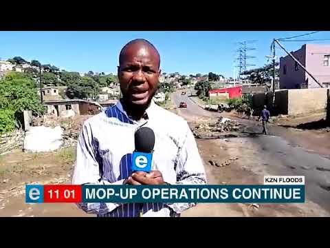 KZN residents rebuild following severe floods