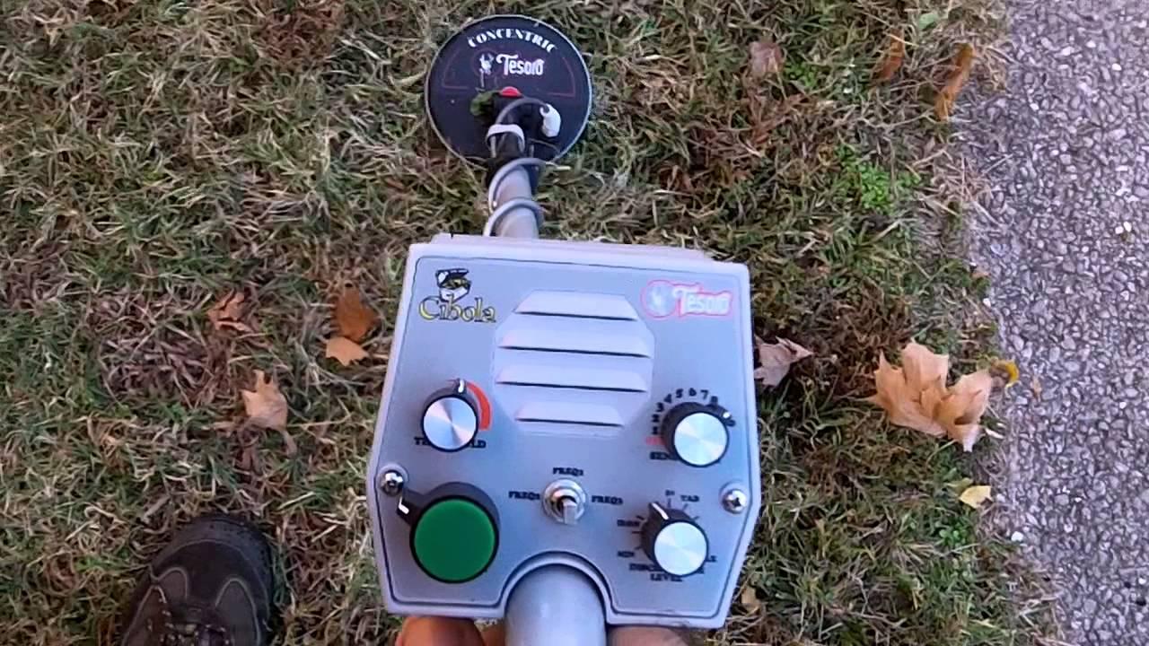 Tesoro Cibola - Metal detecting a local park