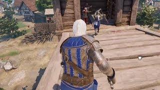 Wiedźmin Geralt i obrona miasta - Mordhau / 14.01.2020 (#4)