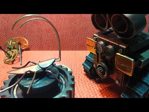 Steampunk. Таракан из мультфильма про робота WALL\'e. Своими руками.