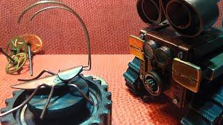 Steampunk. Таракан из мультфильма про робота WALL'e. Своими руками.