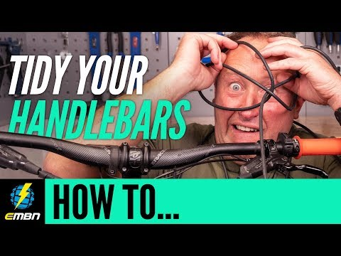 How To Tidy Your Cables And Cockpit | E-MTB Maintenance