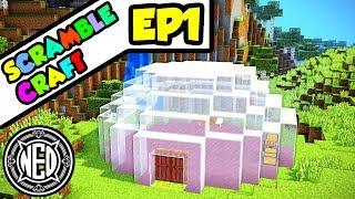 EVERY Recipe is RANDOM??  Minecraft Scramble Craft Ep. 1 (Let&#39s Play)
